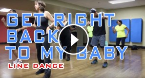 Get Right Back To My Baby Line Dance