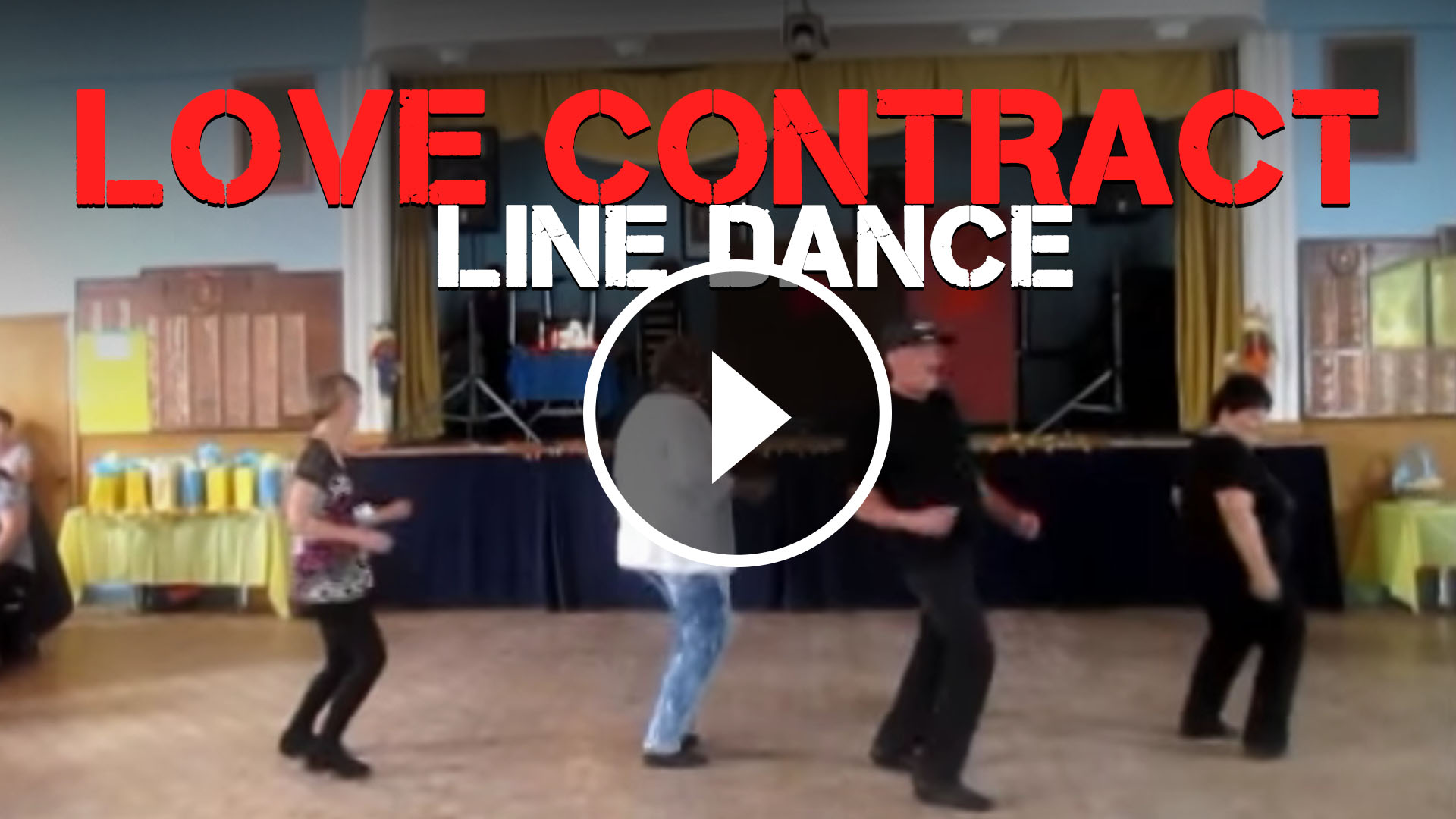 Backyard Party Line Dance : Love Contract Line Dance