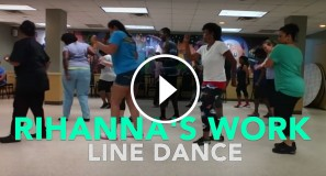 Rihanna's Work Line Dance